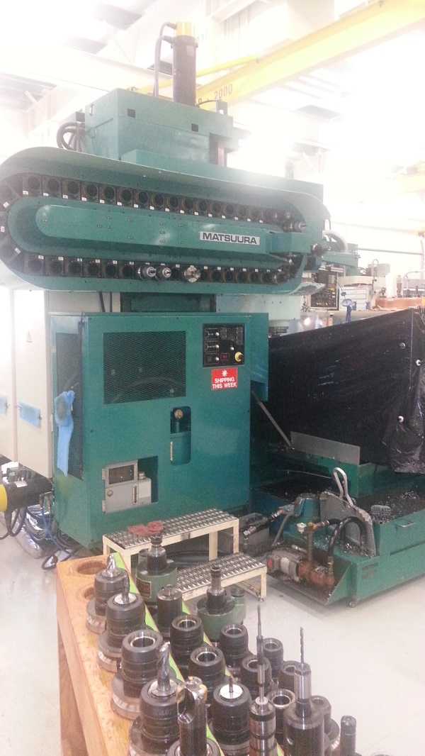 Two Spade Machinery LLC - 1985 Matsuura MC-2000V